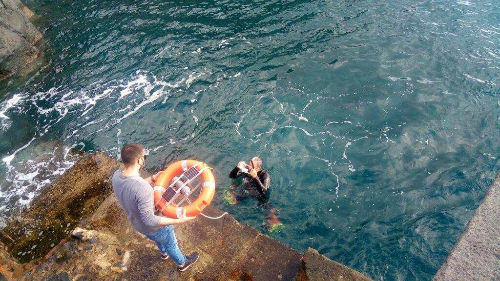 Ocean Wave Data Buoy video