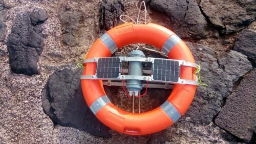 data buoy v2 with solar and sleep mode