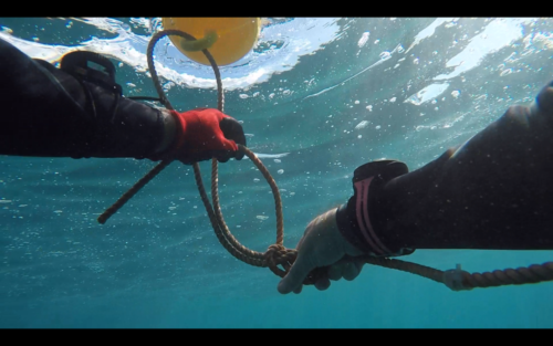 add a marker buoy to the mooring