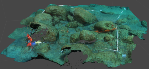 Photogrammetry of the grid