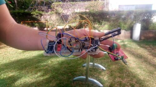 basic electronics for the data buoy