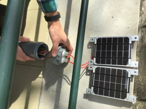 solar power test